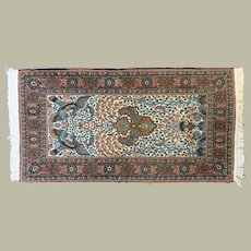 Attractive Semi Antique Carpet Woolen Ghoum in very good Condition
