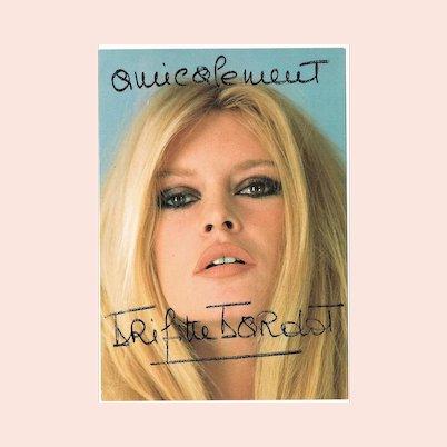 Brigitte Bardot Lot with Three Autographs CoA