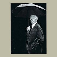 John Le Carre Autograph on 8 x 11 Photograph with COA