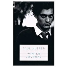 Paul Auster Autograph on 8 x 12 Photo COA