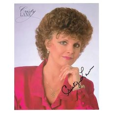 Christy Lane Autograph: Hand signed 8 x 10. CoA