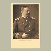 China Boxer Uprise Capitain v. Meyer Waldeck Postcard