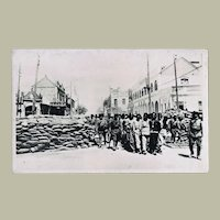 Chinese Vintage Photo Postcard Revolution 1908
