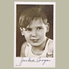 Jackie Coogan Autograph on Photo CoA