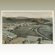 Aden. Vintage Postcard. The crescent Steamer Point
