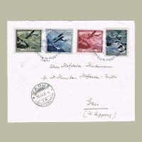 Liechtenstein Zeppelin Mail from 1932