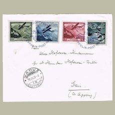 Liechtenstein Zeppelin Mail from 1932