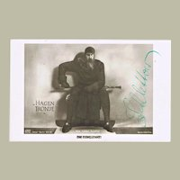 Hans Adalbert Schlettow Autograph, signed Photo. CoA