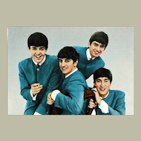 The Beatles Early Vintage Postcard