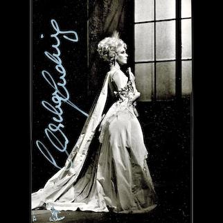 Soprano Christa Ludwig Autograph CoA