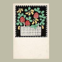 Wiener Werkstaette Postcard Nr. 43 Leopoldine Kolbe