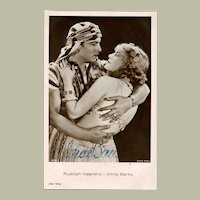 Vilma Banky Autograph: Old Ross Photo. hand-signed, CoA