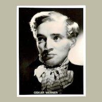 Large Oskar Werner Early Photograph Fahrenheit 451 Actor