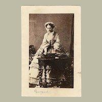 Princess Eugenie Wife of Napoleon III Carte de Visite