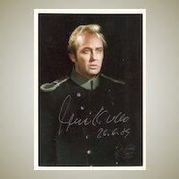Tenor Rene Kollo Autograph from Vienna