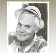 John Agar Autograph: 8 x 10 Photo, CoA