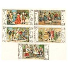 Chocolate Advertising Cards Set. Victor Schmidt