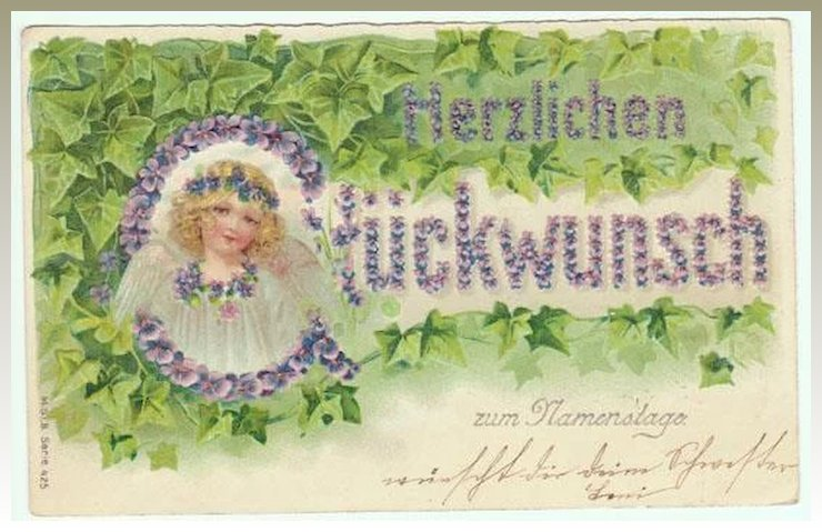 All saints day greeting postcard from 1906 collect at curioshop all saints day greeting postcard from 1906 m4hsunfo