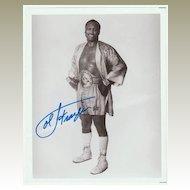 Joe Frazier Autograph: Hand signed Photo. CoA. Plus Extra!