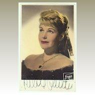 Hilde Guden Autograph: Ealy, hand signed Photo. CoA