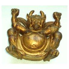 Antique wooden Garuda Sculpture, China. Qing Dynasty