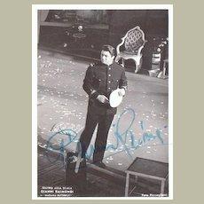 Gianni Raimondi Autograph: Signed Photo, 1970s