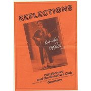 Cliff Richard Autograph on German Flyer. CoA