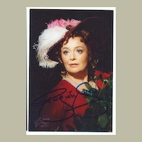 Dame Gwyneth Jones Autograph. Signed Photo. CoA