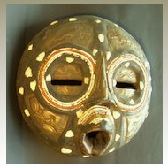 African Luba Mask. Congo, Central Africa.
