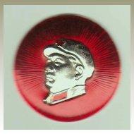 Chairman Mao Button. Authentic. Cultural Revolution.