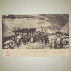 Commander China Troops. Vintage Postcard Tonkin, Laokai ca. 1908