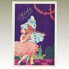 Vintage Advertising for Aida Bakeries . Art Deco Design. Ca.1920