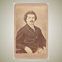 Opera Tenor Theodor Wachtel CdV. Ca. 1868