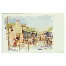 Postcard from Poland, 1917. Wolhynia Scenes. Field-Post