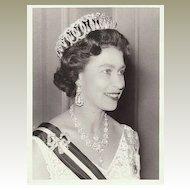 Queen Elizabeth II: Authentic Press Photo from 1966