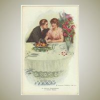 In Proud Possession. Vintage Postcard, Artist signed