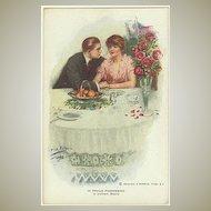 In Proud Possession. Vintage Postcard, Artist signed