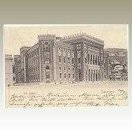 Sarajevo City Hall: Military Postcard from 1903