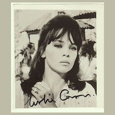 Leslie Caron Autograph. Hand signed Photo. CoA