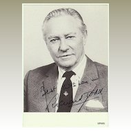 Richard Todd Autograph. Hand signed Photo. CoA