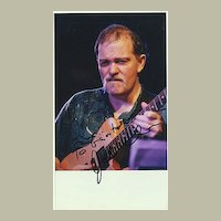 John Abercrombie Autograph: Hand Signed Photo. CoA