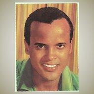 Harry Belafonte Autograph, signed in 1979 in Wien. CoA