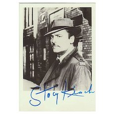Stacy Keach Autograph, Hand-signed Photo.