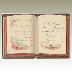 Vintage Postcard from 1900, resembling a Book.