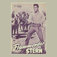 Elvis Presley. 3 old Movie Programs.