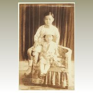 Cute old Studio Photo of Philippine Kids. App. 1910