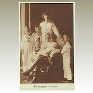 Photo Postcard of Royal Family, Germany, 1915
