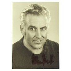 Tenor Spas Wenkoff Autograph: Hand signed Photo