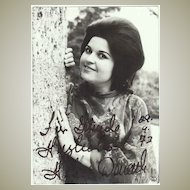 Helen Donath Autograph. Signed Photo. CoA