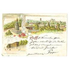 Imperial Russia: Vintage Postcard Kiev, Scarce. 1900